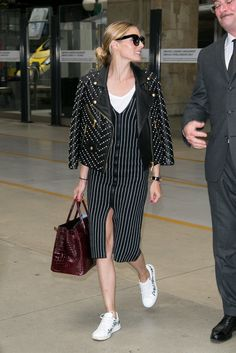 The Olivia Palermo Lookbook : Olivia Palermo Chic Airport Style