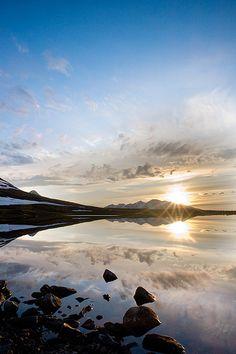 Lake Sarekjauratj, Sarek National Park, Sweden by Johan Assarsson