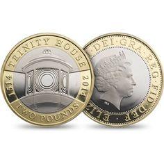 Trinity House £2 coin