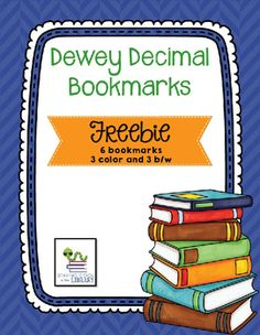 I have had many requests for some Dewey Decimal bookmarks.  This is a set of free bookmarks.  There are 6 pages, 2 bookmarks to a page.  There is a color and a b/w of each.  The color coordinates with my Dewey posters.  Don't forget to leave some feedback if you download and like the product please!You might be interested in these other library products:Dewey Decimal PostersDewey Decimal System PowerPoint BundleDewey Decimal Task Cards - BundleElementary Library No Prep Printables…