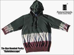 Natural bicycle(ナチュラルバイシクル) Tie-dye Hooded Parka 【Kaleidoscope】 (メンズ・レディース・2012秋冬・パーカー・通販)【楽天市場】