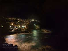 Night. Cinque Terre. (Maxim K. / Moscow / Россия) #Hasselblad H4D-60 #landscape #photo #nature