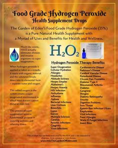 Only FOOD-GRADE hydrogen peroxide is recommended for internal use, but it MUST be diluted for ingestion. Put a few drops in distilled water in your humidifier. Natural Cancer Cures, Natural Cures, Natural Health, Herbal Remedies, Health Remedies, Food Grade Hydrogen Peroxide, Health Tips, Health And Wellness, Eden Foods
