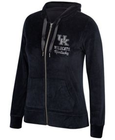 fe9479be5a00d Authentic Ncaa Apparel Women s Kentucky Wildcats Ski Lodge Full-Zip Jacket  - Black M