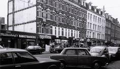 Kinkerstraat in de jaren zeventig. Foto: J. Stam, Collectie Stadsarchief Amsterdam.