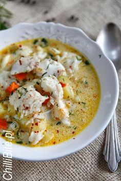 Vegan Recipes Easy, Soup Recipes, Soup And Sandwich, Christmas Cooking, Soups And Stews, I Foods, Food Inspiration, Food Porn, Good Food