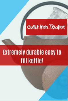 Beka presents it wonderful deal in tea kettles! Presenting 14 cm sized and with 1 Litre capacity Mekong Cast Iron Teapot in Bronze ! You pay £48.73 and get FREE Delivery  in the UK along with this you are enjoying 11% discount on its original cost. Happy shopping!