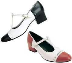 Lana T-strap shoes from Tic Tac Toes for swing dancing/lindy hop