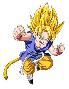DBGT - Goku (Kid) SSJ