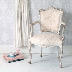 Delphine French Armchair | Chairs & Armchairs | Seating | French Bedroom Company
