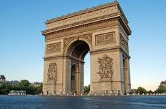 "Say, ""I will triumph"" under the L'Arc de Triomphe."