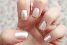 danielleyc | UK Fashion & Lifestyle Blog: Monday Maincure #5 - Essie Pearly White
