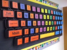 36 Clever DIY Ways To Decorate Your Classroom                                                                                                                                                                                 Más