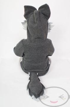 BABY & TODDLER Wolf Hoodie Costume Vest Jacket by lemonbrat