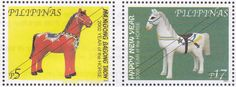 Stamps featuring the Year of the Horse