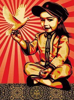 Vivi la Revolucion by Shepard Fairey