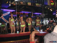 Fun inside a bar on Fields Ave Angeles City Philippines #nightlife #asia