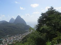 St Lucia, The Pitons