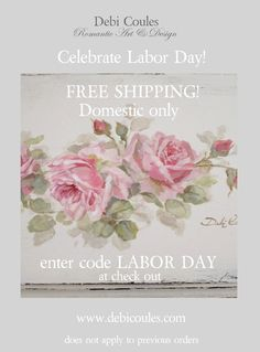 "Farewell to summer....hello to FREE SHIPPING!!! Enter Code "" LABOR DAY"" at checkout."