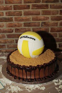 volleyball groom's cake | 36-Volleyball Groom's Cake
