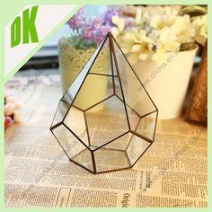 Clear Terrarium Figurines { Terrarium Decorations { Cactus Glass ...
