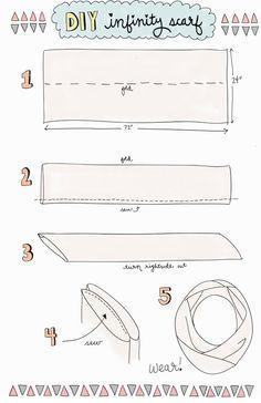 Infinity Scarf Tutorial Handmade Christmas Gift