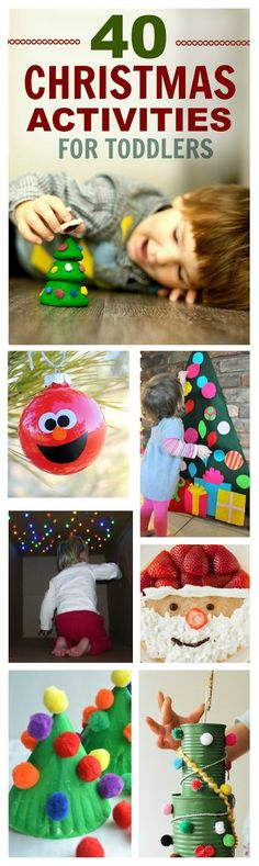 40 TODDLER CHRISTMAS ACTIVITIES YOUR LITTLE WILL LOVE!