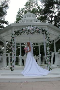 Wedding gazebo with flower garland flower wedding gazebo and wedding a gazebo would be the cutest place to have a first dance to gazebo decorationsgazebo ideasgazebo pergolawedding gazebooutdoor junglespirit