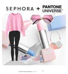 """""""Untitled #4"""" by sisi66 ❤ liked on Polyvore featuring Sephora Collection, Zipz, Topshop and Frends"""