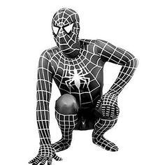 adult black spiderman costume Halloween costumes for men Spandex carnival SuperHero cosplay BodySuit zentai Spider_man custom