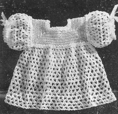 Crocheted dress to make.
