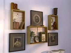 Making Shelves from Salvaged Materials : Archive : Home & Garden Television