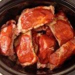 Crock Pot Pork Ribs With Killer Barbecue Sauce - beautyandthefoodie.com