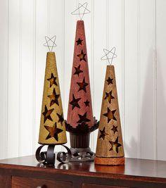 Hollow Star Cutout Cones