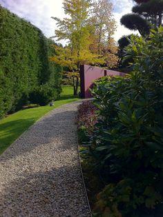 Sidewalk, Gravel Path, Landscape Architecture, Formal Gardens, Garden Path, Garden Modern, Plants, Ideas, Walkway