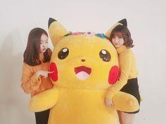 SinB x Pikachu x Euhna Sinb Gfriend, Gfriend Sowon, Pikachu, Pokemon, Korean Group, Korean Girl Groups, Kpop Girl Groups, Kpop Girls, Jung Eun Bi