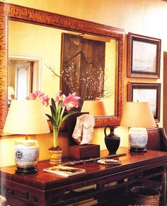 Jackie's apartment; photo from 1996 Sotheby auction catalog