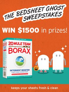 Enter to win $1,000 or 1 of 25 gift cards from 20 Mule Team Borax! #sweepstakes
