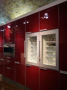 love the built in wine fridge
