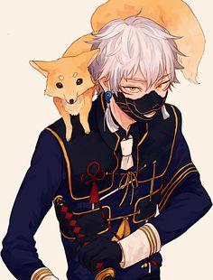 Hot Anime Boy, Anime Guys, Touken Ranbu Nakigitsune, Anime Animals, Bleach Anime, Manga Boy, Boy Art, Anime Characters, Anime Art