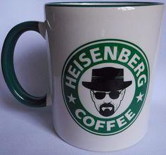caneca verde breaking bad heisenberg coffee