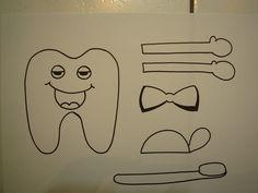 Diş ve Diş Fırçası Kesme-Yapıştırma Etkinliği (Kalıplı)