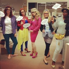 The DSW Mobile & Social Team show us their take on hipster Disney princesses: Ariel, Snow White, Sleeping Beauty, Cinderella, and Jasmine.