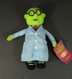 "Dr. Bunsen Honeydew The Muppets Beanie Doll Stuffed Animal 8"" Sababa Toys NEW in Toys & Hobbies, Stuffed Animals, Other Stuffed Animals 