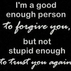 to those who mistreated us
