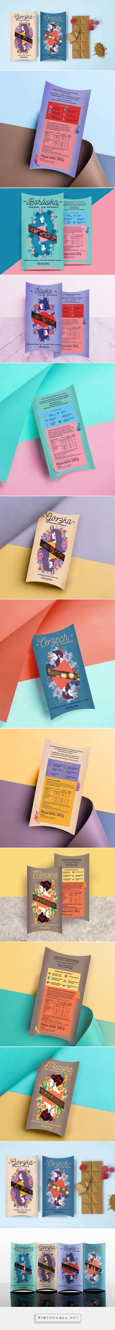 Szabelski Bakery Chocolates - Packaging of the World - Creative Package Design Gallery - http://www.packagingoftheworld.com/2017/08/szabelski-bakery-chocolates.html