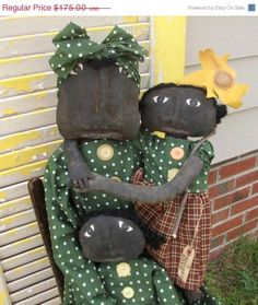 Stock Up Sale Primitive Mammy  A Mother's Love and Babies Set on Etsy, $148.75
