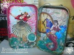 altered altoid tin - mermaids