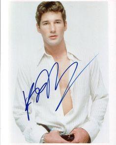 RICHARD GERE.. Hot Handsome Hunk - SIGNED
