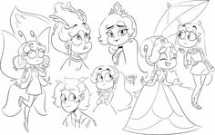 Star Wars, Starco, Star Butterfly, Star Vs The Forces Of Evil, Force Of Evil, Doll Furniture, Disney, American Girl, Chibi